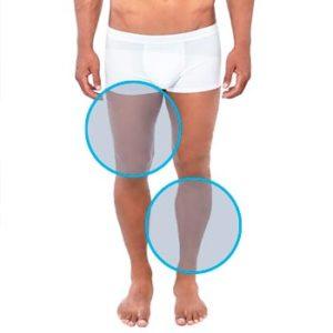 Depilación de piernas para hombres